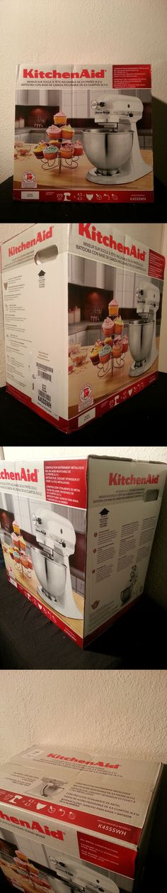 Small Kitchen Appliances: Kitchenaid Classic 4.5-Qt Stand Mixer), K45ss (New In Box) BUY IT NOW ONLY: $190.0