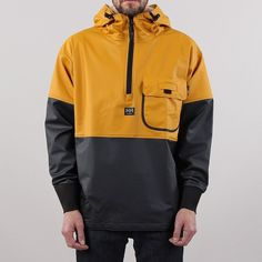 Helly Hansen Roan anorak, made in Norway. Anorak Jacket, Field Jacket, Helly Hansen, Cool Outfits, Street Wear, Menswear, Mens Fashion, Mens Waterproof Jacket, Card Holder