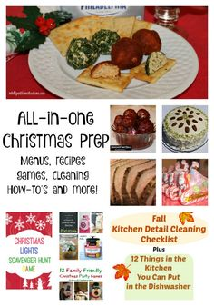 All in One Christmas Prep: Menus, Recipes, Games & More | Intelligent Domestications