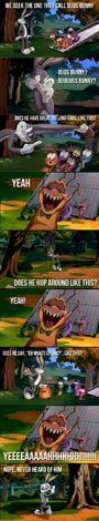 Troll Bugs Bunny