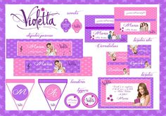 Violetta - Kits Imprimibles Natalia Nachu Cia - https://www.facebook.com/pages/Natalia-Nachu-Cia/134298580103766?ref=stream_location=timeline