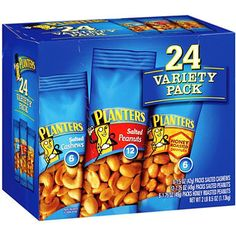 Planters Nut Variety Pack - 24 ct (2 Pack)