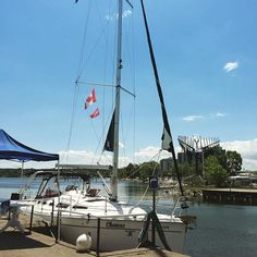 Go for a #sailing #cruise on #LakeSimcoe this #summer with #chancesrsailing! They are now conveniently located right beside the…