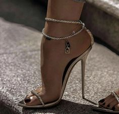 Strappy High Heels, Ankle Strap Heels, Stiletto Heels, Sexy Legs And Heels, Hot Heels, Talons Sexy, Beautiful High Heels, Killer Heels, Cute Shoes