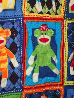 Sock Moneys Galore by QuiltsForU2 on Etsy, $50.00