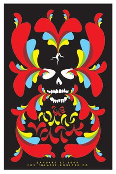 Mars Volta Concert Poster by Dan Stiles