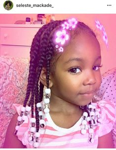 35 trendy Ideas for baby girl hairstyles crochet Natural Hairstyles For Kids, Kids Braided Hairstyles, Natural Hair Styles, Kids Hairstyle, Baby Girl Hairstyles, Black Girls Hairstyles, Children Hairstyles, Braids For Kids, Girls Braids