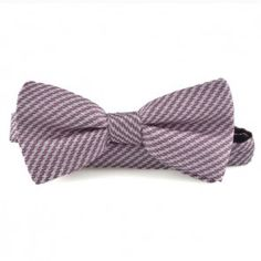 Bow tie purple with