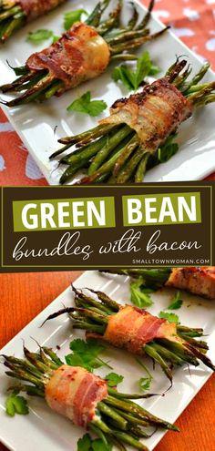 GREEN BEAN BUNDLES WITH BACON