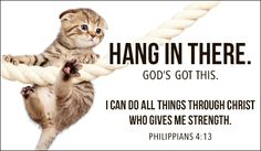 Free Hang in There eCard - eMail Free Personalized Care & Encouragement Cards Online