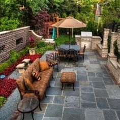 Small Backyard Landscaping Ideas... Patio and backyard landscape design #rrrlandscaping
