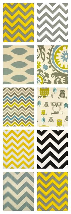 Home decor prints at CityCraft: love the yellow gray and blue together