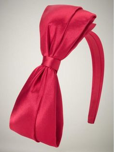 The perfect red bow Blair headband