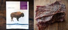 If you want some jerky with extra protein and exotic flavour try Patagonia Buffalo Jerky