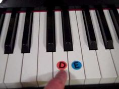 Free Piano Lessons for Kids - Lesson 4 - Finding CDE