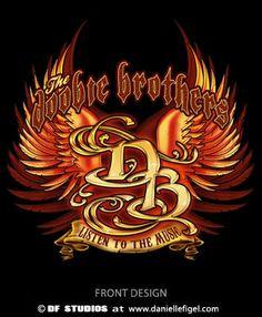 "Doobie Brothers Design ""Listen to the Music""  www.daniellefigel.com"