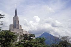 The Church of Jesus Christ of Latter Day Saints Temple in San Salvador, El Salvador