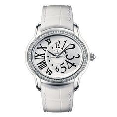 Audemars Piguet Ladies Millenary Stainless Steel & Diamond Watch