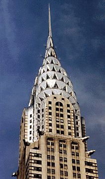 "William van Alen for Walter Chrysler, ""The Chrysler Building"" (completed 1930) in New York City"
