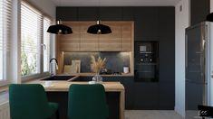 Projekt kuchni - EKK Pracownia Projektowa Conference Room, Table, Furniture, Home Decor, Decoration Home, Room Decor, Tables, Home Furnishings, Home Interior Design