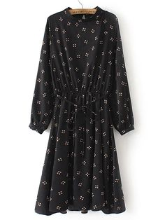 Shop Black Crew Neck Grid Print Dress online. SheIn offers Black Crew Neck Grid Print Dress & more to fit your fashionable needs.