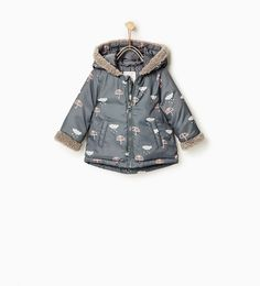 702f38d3 See more. Quilted cloud and umbrella jacket-COATS-Baby girl-Baby | 3 months  -