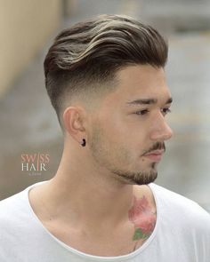 Mens Hairstyles + Cool Haircuts For Men Short Hair Undercut, Slicked Back Hair, Undercut Hairstyles, Cool Hairstyles, Modern Hairstyles, Men Undercut, Japanese Hairstyles, Haircut Short, Mexican Hairstyles