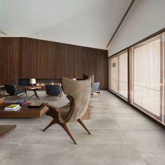 Concrete look tile District, with antibacterial protection …: Concrete Look Tile, Concrete Floors, Tiled Floors, Basement Flooring, Kitchen Flooring, Flooring Ideas, Interior Exterior, Interior Design, Studio Mk27