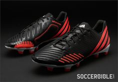 63b1fc996 adidas Predator LZ Football Boots - Black Pop White - Sports et équipements  - Foot - Adidas. SoccerBible