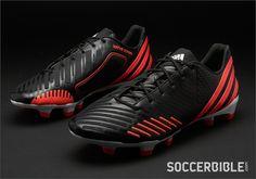 adidas Predator LZ Football Boots - Black/Pop/White - http://www.soccerbible.com/news/football-boots/archive/2012/11/21/adidas-predator-lz-football-boots-black-pop-white.aspx#