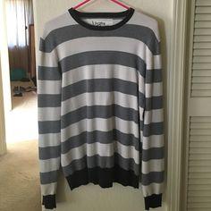 Men's Striped Sweater Soft men's sweater. Used Kirra Sweaters Crew & Scoop Necks
