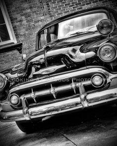 DAve SALE Classic Car Art Vintage Chevy Sharp By LookingAtClouds 2000