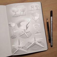 Furniture sketches from Marius Kindler @mxrxvs  Get inspired! #designinpiration #sketching #create  #furniture #furnituredesign #chair #industrialdesign #iddesign #sketches #sketchwork #digitalsketch #photoshop #productdesign #idsketching #rendering #sketchbook #presentation #copic #pencilsketch #designstudent #designlovers #designer #sketch #illustration #designdaily #letsdesigndaily @letsdesigndaily