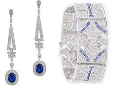 CZ by Kenneth Jay Lane Earrings and Bracelet