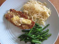 Cooking 101: StyleBlueprint Louisville. Chicken w Artichoke Hearts and Garlic sauce.