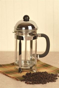 Camping Coffee Maker - Widely regarded as one of the finest coffee brewing methods anywhere. And it's so easy.