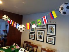 Soccer Theme Parties, Party Themes For Boys, Soccer Party, Birthday Party Themes, Party World, Birthday Cup, Party Catering, Cowgirl Party, Soccer World