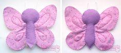 Sew Sweet: Make it Monday :: Butterfly Felt Soft Toy