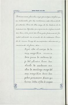 Catálogo de los monumentos históricos y artísticos de la provincia de Huelva en virtud de R.O. de 23 de noviembre de 1908 [Manuscrito] / por D. Rodrigo Amador de los Ríos. Vol. 2: T. 1: Texto. -- 859 p. ms. sobre papel pautado enmarcado por orla decorativa modernista http://aleph.csic.es/F?func=find-c&ccl_term=SYS%3D001359482&local_base=MAD01