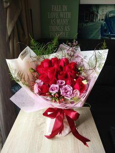 Birthday Rose bouquet #hanayabyzen