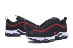 superior quality ed5c4 a000f Cheap Nike Air Max 97 UL 17 TN KPU Men Black Red White shoes To  Worldwide Free Shipping WhatsApp 8613328373859