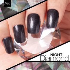 Check out the latest fall trend color, NEW! Limited-Edition† Mary Kay® Nail Lacquer in Night Diamond!