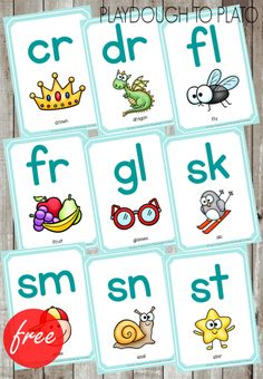 Free Blends Cards and Dice. Perfect for class posters or small group activities. So helpful for teaching kids how to read blends.