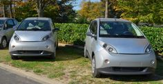 La Bluecar, avec ses 1.800 exemplaires vendus, s'est hissée à la deuxième place des ventes de véhicules électriques. Photo : VM/Metro