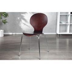 Moderne stoel Form koffie - 13