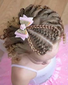Peinados para niñas Cute Little Girl Hairstyles, Baby Girl Hairstyles, Braided Hairstyles, Kimberly Hair, Long Hair Designs, Girl Hair Dos, Hair Trim, Natural Hair Styles, Long Hair Styles