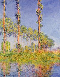 Three Trees, Autumn Effect - Claude Monet
