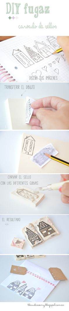 #Carvingstamps #stamps #goodideas #packaging My project with stamps