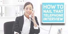 Got a telephone interview soon? You should read these tips first.