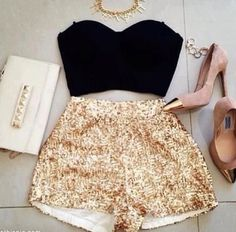A cute party outfit